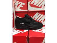 Nike Airmax 90s Black Leather Edition £35 Each