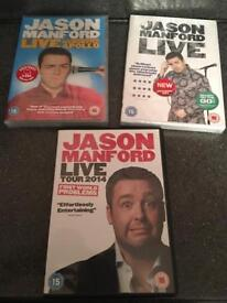 Jason Manford Comedy stand up DVD's NEW