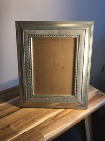 Dorchester Silver Photo Frame - fits 8 x 6in photo
