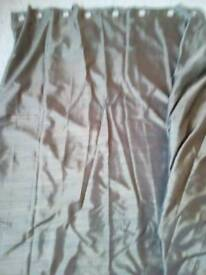 Curtains- beautiful brown next curtains