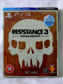 Resistance 3 Special Edition (PS3 Steelbook Game)