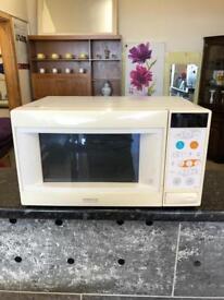 White kenwood combi microwave