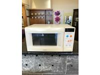 White kenwood combi microwave