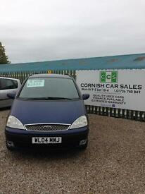 Ford galaxy 7 seater only 92k 12 months mot 6 months warranty
