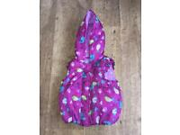 Baby Girls Bird Pattern Gilet 9-12 Months