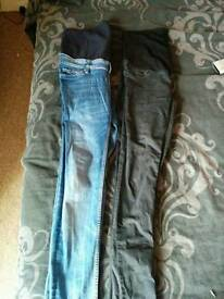 Maternity over bump jeans