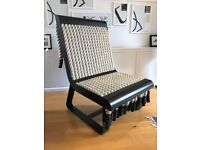 Unique & Cool : Steel & Rope Chair