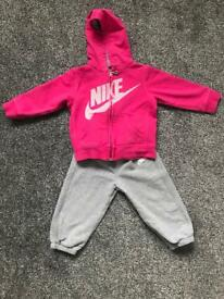 Little girls Nike tracksuit