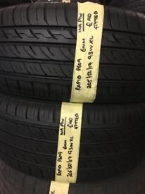 205/50/17 205-50-17 2055017 205:50:17 93W XL RAPID P609 pair of 2 tyres