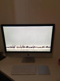 Apple iMac 27 inch late 2013 i5 3.2ghz 8gb (upgradeable RAM) 1tb HDD