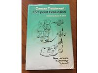 Cancer Treatment: End-point Evaluation. New Horizons in Oncology Volume 2