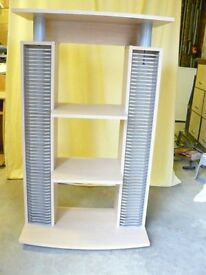 CD / DVD Stand with shelfs for HI-Fi units