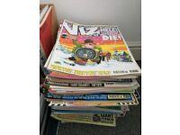 Viz comics collection in good condition.