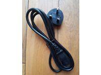 1 Metre Black Asap Kettle Plug