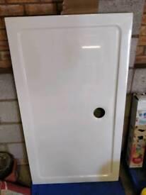 1400mm X 800mm ultra slim stone shower tray