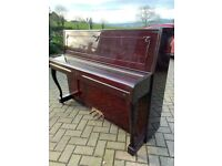 Karl Muller upright piano  Belfast Pianos   Walnut      **Free delivery**   Dunmurry   