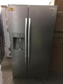 DAEWOO DRQ29DES American-Style Fridge Freezer - Silver. £549.99