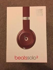 Genuine Beats Solo 2 - Luxe Red