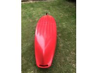 Point 65 Martini Solo 2 piece one person kayak. New Sept 2015, excellent condition.