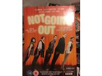 Not going out DVD series 1234 and five