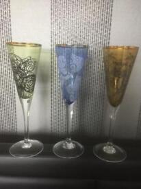 Darlington glass, £12 each.