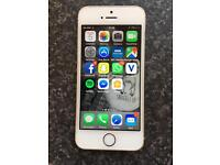 iPhone 5s 16gb in gold. As new condition not a mark on it