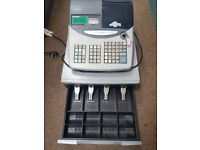 CASIO TE 2000 CASH REGISTER TILL WITH CASH DRAW & DRAW INSERT