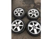 Vauxhall or Saab alloy wheels 5x110 for sale