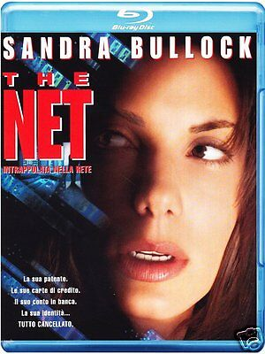 The Net  1995   Blu Ray  Region Free    Sandra Bullock   New   Sealed