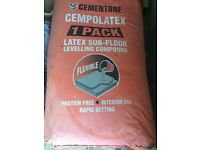Cementone Cempolatex Latex Sub-Floor Levelling Compound 2 BAGS 25kg and 1 x Thistle Multi-finish