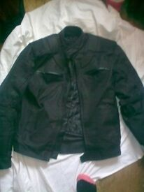 mens motorbike jacket size small