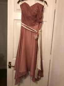 Monsoon Silk bridesmaid dress size 12