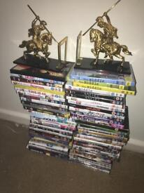 DVDs horse statues