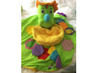Galt Inflatable Dino Playnest Baby Play Seat, Chair, Support Ring