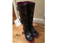 Joules Wellington boots - brand new!