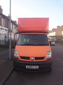 Luton Box Custom Built Removals Vanfor Sale