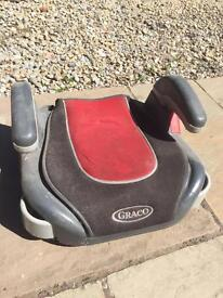 Graco child car booster seat.