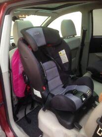 Axkid isofix rear facing car seat