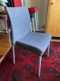 Set of 6 Designer Chairs PEDRALI ICE with spare covers