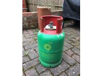Empty Gas Cylinder