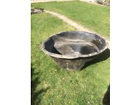 Heavy duty pre formed pond base liner