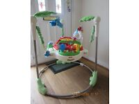 Fisher Price Rainforest Jumperoo in Great Condition