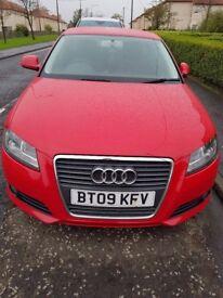 Audi A3 1.9tdi sport 5d £30 road tax economical engine over 70mpg