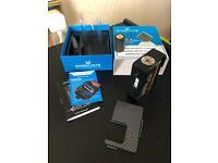 VANDY VAPE PULSE BF 80 WATT Box Mod Carbon Fiber Silver & Black (Squonker)