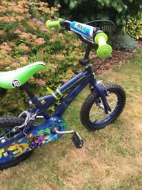 """14"""" wheel kids bike - Ben10"""