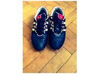SIZE 12----Y-3 Men's Sprint Classic Textile Trainer Black/Red