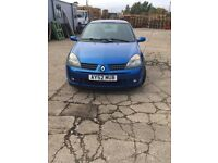 Renault Clio Sport, good condition, only 83,600 miles!