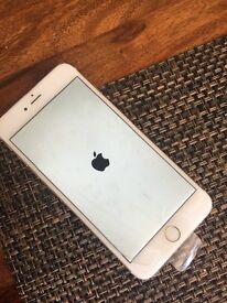 IPhone 6 Plus unlocked gold with box