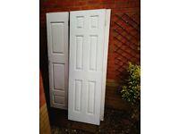 Set of doors and wardrobe doors