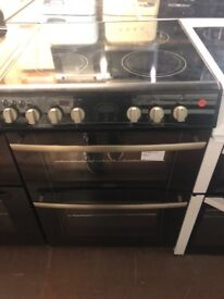 60CM BLACK BELLING ELECTRIC COOKER